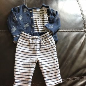 Other - Baby jacket and pants